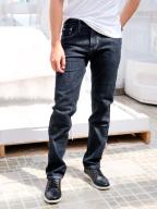 Quần Jeans Ống Đứng Xanh Đen QJ1593