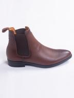 Giày Chelsea Boot Da Trơn G218