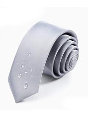 Cà Vạt Hàn Quốc Xám CV19