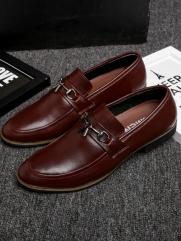Giày Tây Đỏ Nâu G74