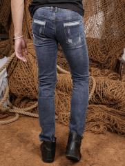 Quần Jean Skinny Xanh Dương QJ1354