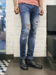 Quần Jean Skinny Xanh QJ1385