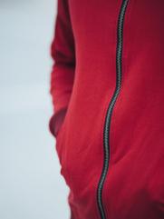 Áo Khoác Nỉ Đỏ Đô AK201
