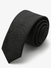 Cà Vạt Hàn Quốc Đen CV76