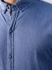 Áo sơ mi Jeans Xanh Biển ASM878