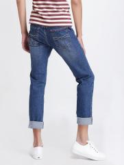 Quần Jeans Ống Đứng Xanh Dương QJ1519
