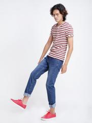 Quần Jeans Ống Đứng Xanh Dương QJ1518
