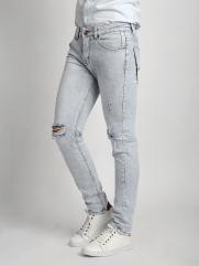 Quần Jeans Skinny Rách Bạc QJ1533