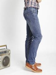 Quần Jeans Skinny Rách Xanh Dương QJ1536