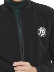 Áo Khoác Kaki Đen AK221