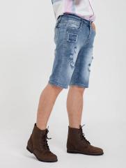 Quần Short Jean Xanh QS159