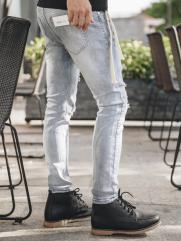 Quần Jeans Rách Bạc QJ1628