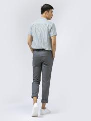 Áo Sơ Mi Linen Sọc Đen ASM1270