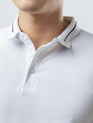 Áo Thun Polo AT841 Màu Trắng