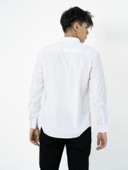 Áo Sơ Mi In Sọc ASM006 Màu trắng