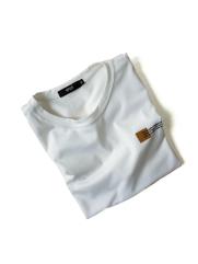 Áo Thun Ngực In Chữ AT024 Màu Trắng