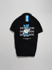 Áo Polo In Denim Dog PO012 Màu Đen