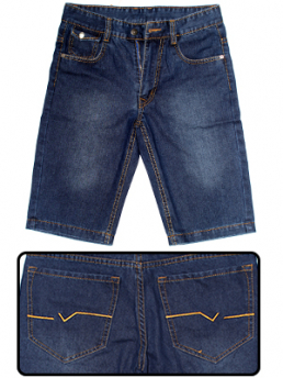Quần Short Jeans Xanh Đen QS08