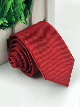 Cà Vạt Hàn Quốc Đỏ CV58