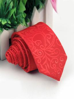 Cà Vạt Nam Hàn Quốc Đỏ CV01