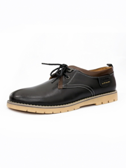 Giày Da Thời Trang Đen G39