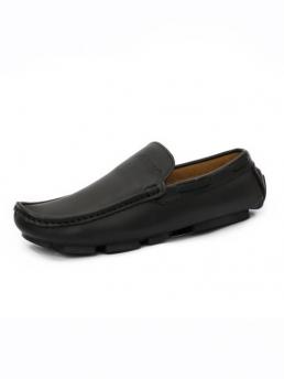 Giày Mọi Da Đen G23