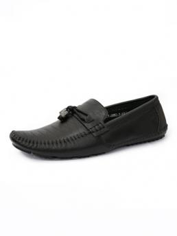 Giày Mọi Da Đen G43