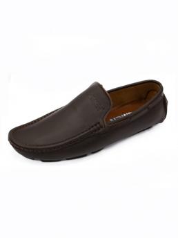 Giày Mọi Da Nâu G23