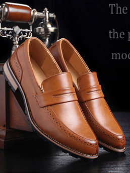 Giày Tây Màu Bò G66