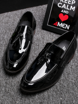 Giày Tây Da Đen G81