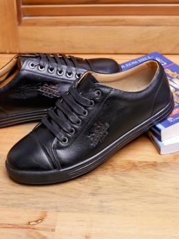 Giày Thể Thao Da Đen G92