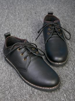 Giày Cột Dây Thời Trang Đen G111