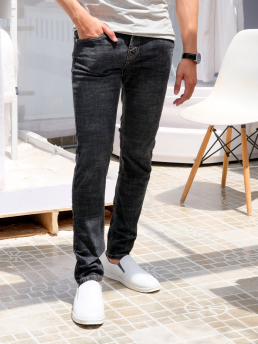 Quần Jeans Skinny Đen QJ1587