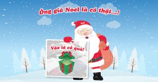 Ông già Noel là... có thật - Vào 4MEN là có quà!!