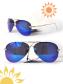 Mắt kính nam mùa hè Xanh Dương Đậm MK70