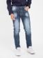 Quần Jeans Skinny Xám Chuột Đậm QJ1611