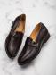 Giày Tăng Chiều Cao Nâu G206