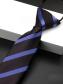 Cà Vạt Sọc CV003 Màu Tím