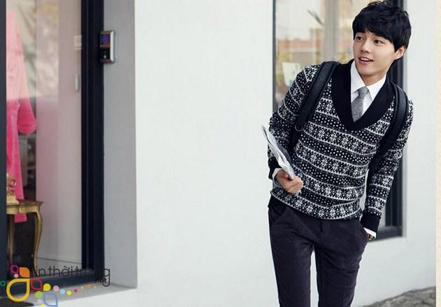 cách diện áo len nam để đi chơi noel 2016 - 14