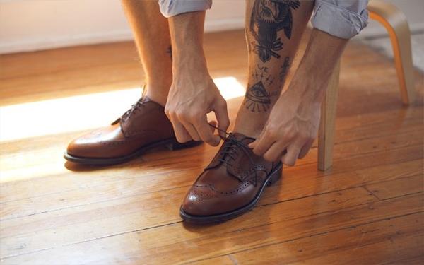 4 quy tắc khi chọn mua giày da nam - 4