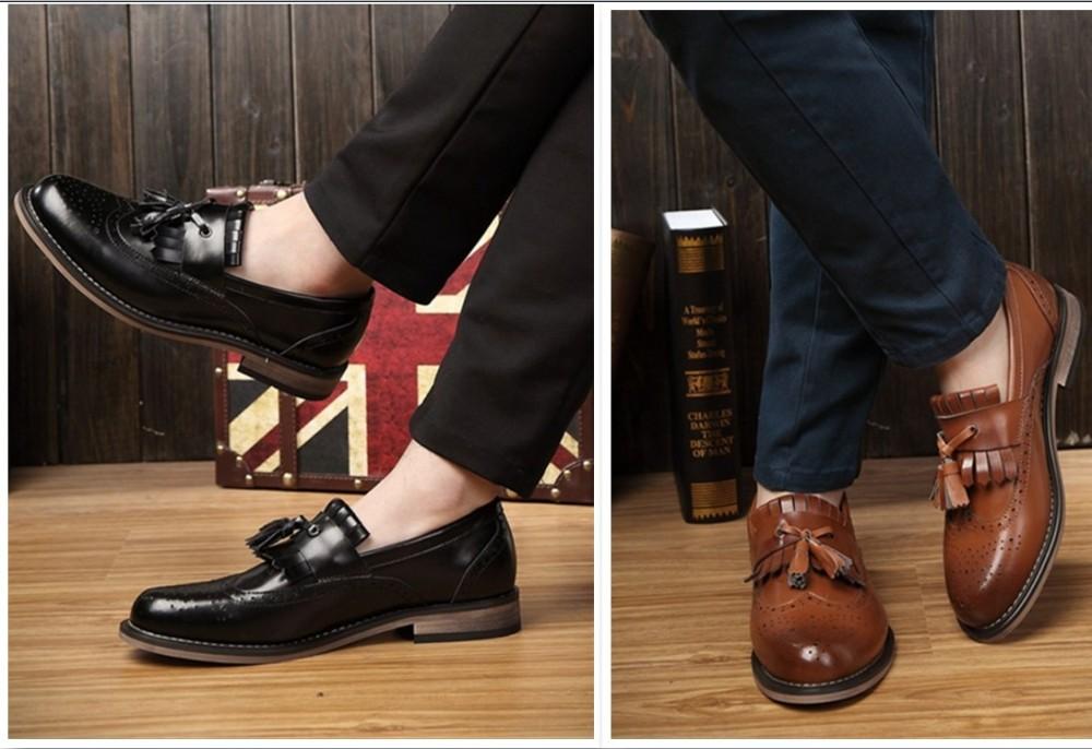 4 quy tắc khi chọn mua giày da nam - 1