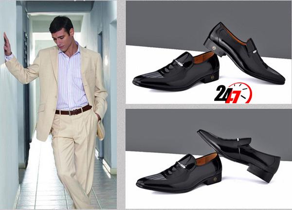 Làm cách nào để nhận biết giày da nam thật giả - 3