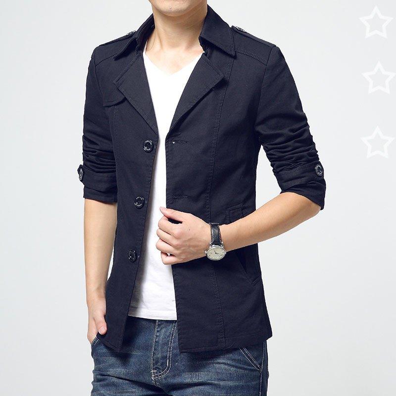 Cách chọn áo khoác nam theo dáng người - 1