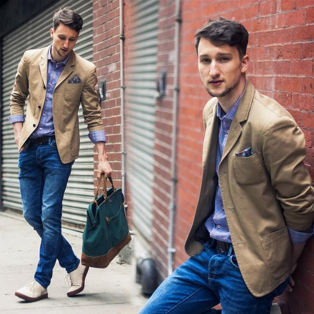 Cách kết hợp áo vest với quần jean cực chất dành cho nam - 4