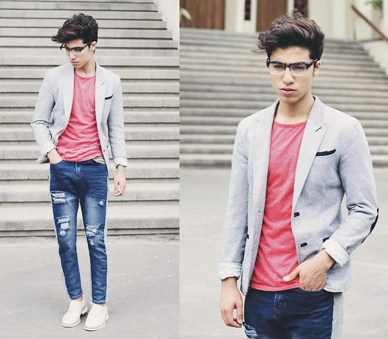 Cách kết hợp áo vest với quần jean cực chất dành cho nam - 6