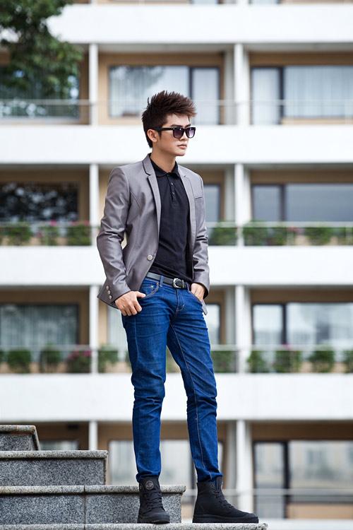 Cách kết hợp áo vest với quần jean cực chất dành cho nam - 3