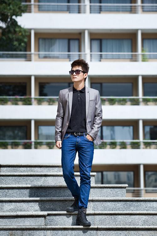 Cách kết hợp áo vest với quần jean cực chất dành cho nam - 2