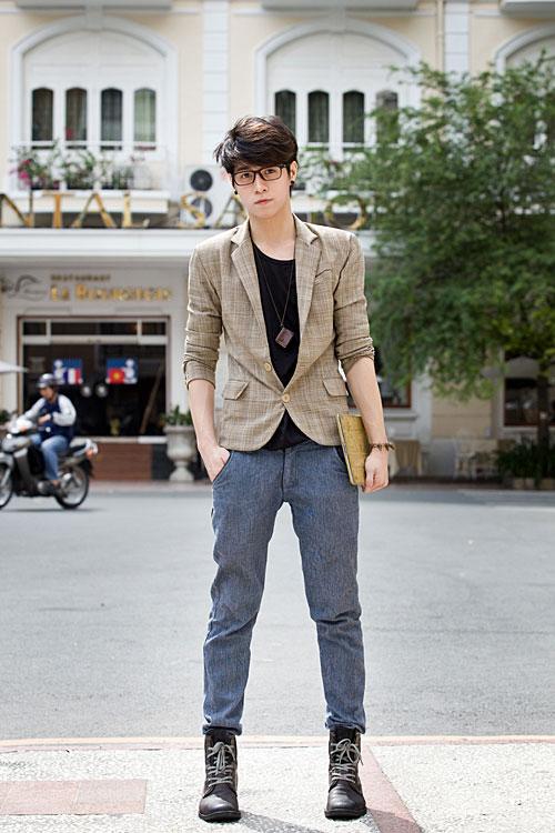 Cách kết hợp áo vest với quần jean cực chất dành cho nam - 8
