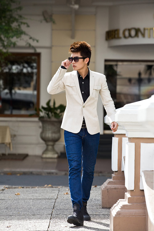 Cách kết hợp áo vest với quần jean cực chất dành cho nam - 9