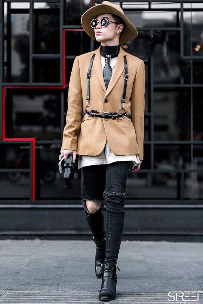 Học cách phối quần jean rách nam của các stylist việt nổi tiếng - 11